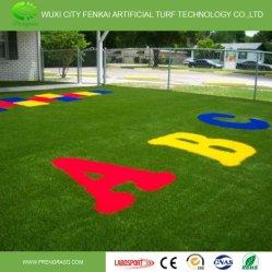 Rainbow colorés Gazon artificiel de l'herbe décoratifs pour la piste de course