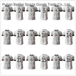 La camicia di gioco del calcio dei 19 20 della Germania di calcio del pullover dei capretti uomini del kit supera le uniformi domestiche