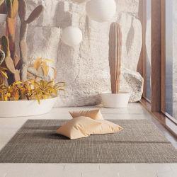 ライトグレーカーペットの家敷物の床のカーペット区域敷物の手 ウール織りラグ