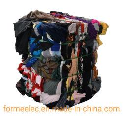 Maglione utilizzato rigenerato spreco riciclato tessile residua della materia prima del cotone dell'ovatta