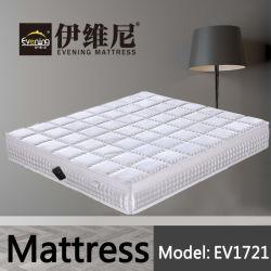 Size Bed High-density Foam 5つのゾーンのホームホテルに使用する小型のばねの倍王のマットレス