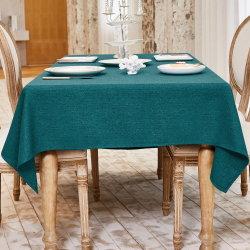 Le linge de maison étanche imprimé personnalisé Parti ébouriffé Table Cloth