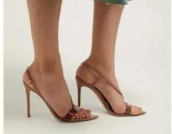 Benutzerdefinierte Strap Sexy Frauen High Heels Lady Schuhe Sandalen Mode Freizeit Sommer Hausschuhe Yoga Schuhe Kleid Party Schuhe