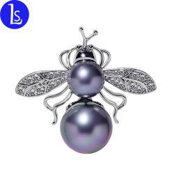 Moda Vintage jóias de luxo Bee inseto CZ diamantes pedra Broche