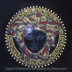 Medusa DMC de hierro de piedra de cristal de diamante Hotfix Rhinestones Motivo de la transferencia de calor
