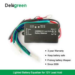Qnbbm única célula 12V chumbo ácido Bateria balanceador do equalizador de som automotivo bateria
