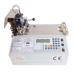 Taglierina calda & fredda del calcolatore ad alta velocità della lama per il nastro tessuto tessuto (WL-120L/120LH/120H)