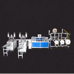 Vollautomatischer HochgeschwindigkeitswegwerfEarloop Ohr-Riemen Repirator atmenventil-faltbare medizinische chirurgische Gesichtsmaske-Herstellungs-Produktion, die Maschine herstellt