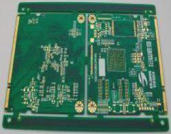 6layer gedruckte Schaltkarte 1.0mm mit Immersion-Gold, BGA, zum von 3mil für Unterhaltungselektronik-Baugruppe zu zeichnen