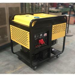 10КВТ 12 Ква 10000 Вт 10 киловатт на открытой раме тип V Dual-Cylinder дизельного двигателя электрический генератор