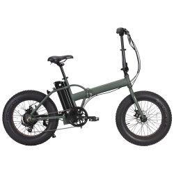 20-дюймовый складные складной велосипед с электроприводом шин жира с 8 fun помощи педали управления подачей топлива двигателя