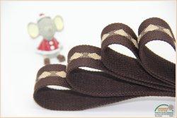 Cinghia variopinta della cinghia della tessitura del lino della tessitura della cinghia del Rolls del tessuto all'ingrosso della tela di canapa