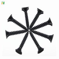 Fabrica de la bobina de alambre de uñas Nail tornillo tornillo negro CLAVOS clavos tornillos Drywall