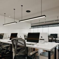 Lineare das Licht des LED-Decken-Lampen-Anhänger-LED, das auf und ab Beleuchtung-modernes Innenaluminium hängt, verschob für Büro-Schule-Einkaufszentrum