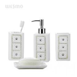 Набор принадлежностей для ванной в ванной комнате Polyresin Лосьон-водоочиститель мыло блюдо