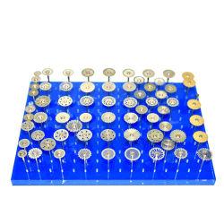 Laboratorio dental Dientes de porcelana Bur de corte de disco de diamante pulido