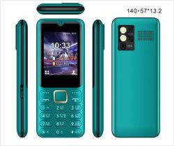 الطراز الجديد شريط محمول مزود بلوحة مفاتيح مزودة بلوحة مفاتيح كبيرة لبطاقة SIM مزدوجة الهاتف 2g GSM 2.4 بوصة