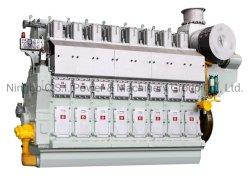 DN8340 Series с дизельным двигателем, Hfo, природного газа, двойной топливный морской средней частоте вращения двигателя, запасные части двигателя