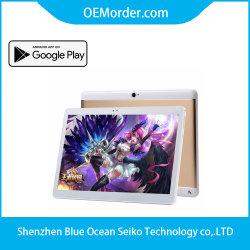 Tablette 10.1 pouces 3G téléphone appeler Tablet PC Mtk6582 IPS Écran Quad Core+Dual SIM+GPS phalet