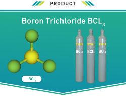 半導体の製造業のエッチングプロセスで使用される専門のガスBcl3のほう素の三塩化物