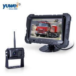 Neue und heiße Ahd 720p drahtlose Rearview-Parken-Nachtsicht-Shockproof aufhebenkamera-Monitor-Installationssatz mit 7inch eingebautem DVR Monitor