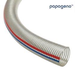 2インチによって波形を付けられる補強された適用範囲が広いPVC管