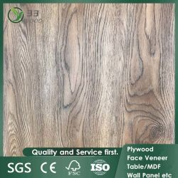 17mm 18mm resistente al agua el papel de grano de madera melamina ecológicos frente Laminado de madera de álamo el contrachapado para muebles de lujo