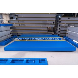 60t~120t 16m 18m Stahlkonstruktion-Digital-LKW-Schuppe für das Wiegen