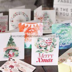 도매 메리 크리스맥스 고마운 인사 카드 인쇄 서비스