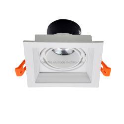 3W 5W 7W 10Вт для использования внутри помещений Потолочный светодиодный индикатор фонаря направленного света на решетке