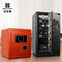 Hot Sale 2020 de la sécurité en cuir de luxe Coffre-fort numérique Wieh regarder de l'enrouleur