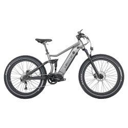 Vélo Mountain E à grande vitesse, MI-conduite, suspension intégrale, 1 000 W, électrique Vélo