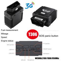 inseguitore di vendita caldo GPS del veicolo 3G/WCDMA con il Google-Programma T306 d'inseguimento