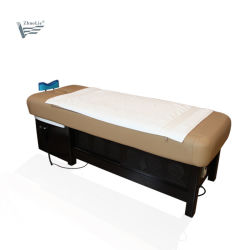 Zwei in einem Massage-Bett-Haar-Shampoo-Stuhl-waschenden Bett für Schönheits-Salon