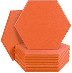 Pannelli acustici in fibra di poliestere Hexagon PET insonorizzati per Ufficio e Studio