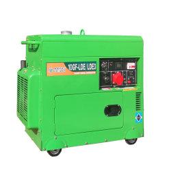 9kw/11kVA 전기 시동 단일 또는 3상 무소음 유형 휴대용 이동식 디젤 발전기