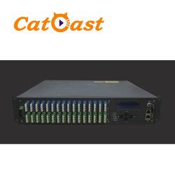 Amplificatore della fibra verniciato multi erbio delle porte 1550nm EDFA Pon CATV di FTTH