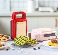 2021 New Style 600W Portable multifunktionale Non-Stick Frühstück Toaster Grill Pan Mini Sandwich Maker
