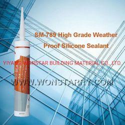 Strato della qualità superiore ASP e sigillante neutro di vetro Sm-789 del silicone del tempo