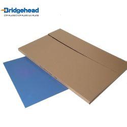 Aluminium positive Ctcp UVCTP Drucken-Platten-blaue Offsetbeschichtung