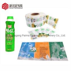 O calor de plástico de PVC de vedação da luva retrátil para garrafa de sumo