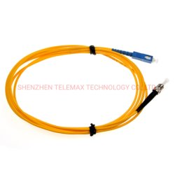 سلك توصيل ألياف SC/FC/LC/St/Mu/E2000 UPC APC