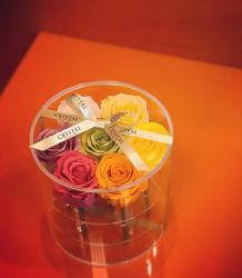 La decorazione di cerimonia nuziale del fiore artificiale secca ha conservato il fiore reale di tocco