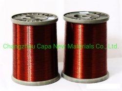中国の高品質の規則的な電気機械のためのSwg36によってエナメルを塗られるアルミニウム巻上げ磁気ワイヤー