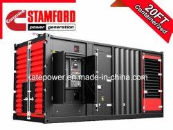 1000 ква контейнерных дизельный генератор с двигателем MTU Perkins Cummins