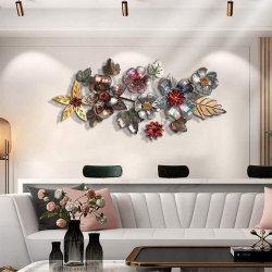 Ferro Hanging Luxury 3D Mosaic modello parete decorazione Creative divano Sfondo decorazione domestica del soggiorno