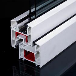 ملفات تعريف PVC (دائرة ظاهرية دائمة) الخاصة بإمالة ملفات تعريف UPVC (شاشة الاتحاد البريدي العالمي) الخاصة بالنافذة باب مفصلي بلاستيكي