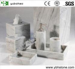 Marmeren interieur voor badkamerset