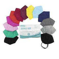 جاهز للشحن الملوّن الناعم المريح PFEB 95% من أجهزة التنفس الواقية قناع العرض النهائي P2 القابل للاستخدام