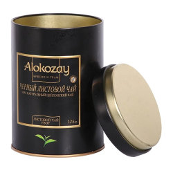 Benutzerdefinierte Luxus Runde Metallzinn für Tee Kaffee Verpackung